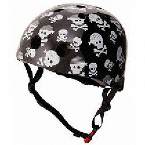 お祝いやプレゼントにも 訳あり商品 Kiddimoto Skullz ヘルメット Small あす楽不可 子供用 代引不可 価格 交渉 送料無料