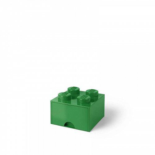 お祝いやプレゼントにも Lego レゴ Storage Brick Drawer 並行輸入品 <セール&特集> 4 代引不可 送料無料 おもちゃ箱 Green あす楽不可 Dark