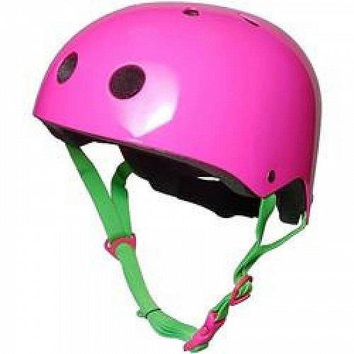 お祝いやプレゼントにも Kiddimoto ヘルメット ネオン Pink 代引不可 新色 販売 送料無料 あす楽不可 子供用 Medium