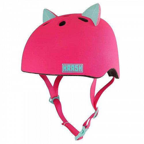 猫ちゃん ヘルメット ユース用 8+ (54-58cm) Pink 子供用 自転車 ヘルメット【送料無料】【代引不可】【あす楽不可】