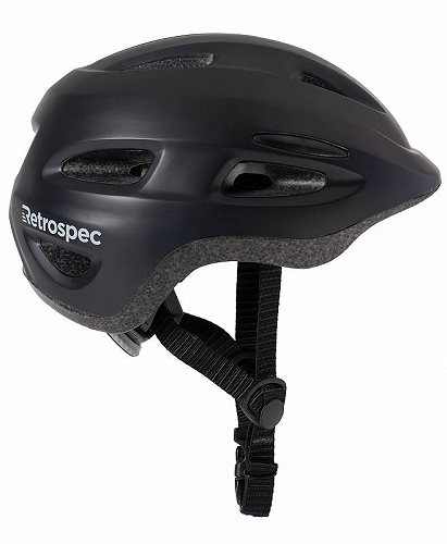 お祝いやプレゼントにも Retrospec Scout-1 Bike マート スケート ヘルメット CPSC Approved Ages あす楽不可 買物 1-10 Black Matte 送料無料 子供用 代引不可