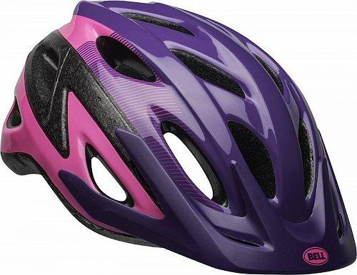 Bell ベル Axle Bike ヘルメット Repose /purple ユース用 8+ (52-58cm) pink purple 子供用 自転車 ヘルメット【送料無料】【代引不可】【あす楽不可】