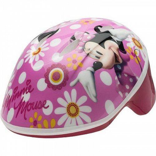 お祝いやプレゼントにも Disney ディズニー Bell Minnie Mouse Bike ヘルメット Toddler 送料無料 Pink 新品 送料無料 3+ 代引不可 Flowers あす楽不可 国内在庫 子供用 48-52cm
