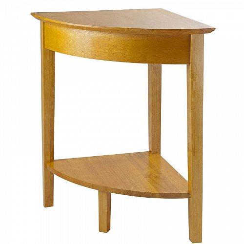 サイドテーブル Honey 【送料無料】【代引不可】【あす楽不可】 Office Studio Home 家具 Winsome Table Wood Finish Corner 木製
