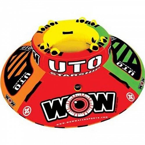 WOW World of Watersports WOW 15-1110 UTO 1 to 5 Rider Starship Inflatable Towable トーイングチューブ ・バナナボート 大型浮き輪 牽引 【送料無料】【代引不可】【不可】