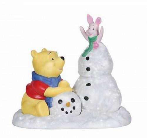 Precious Moments Disney Frosty Sort Of Fun Pooh and Piglet Figurine 131702 New プレシャスモーメント ディズニー【送料無料】【代引不可】【あす楽不可】