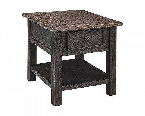 Signature Design by Ashley Tyler Creek Rectangular End Table 家具 木製 サイドテーブル 【送料無料】【代引不可】【あす楽不可】