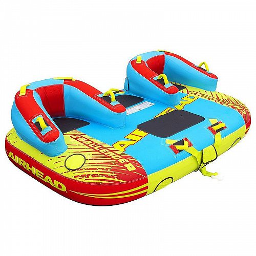 Airhead 3 Rider Challenger Inflatable Towable Boating Water Sports Tube トーイングチューブ ・バナナボート 大型浮き輪 牽引 【送料無料】【代引不可】【不可】