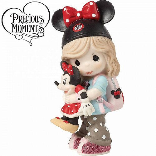 プレシャスモーメント Precious ディズニー【送料無料】【代引不可】【あす楽不可】 Handpainted Figurine Dreamer and Girl Disney Porcelain Moments