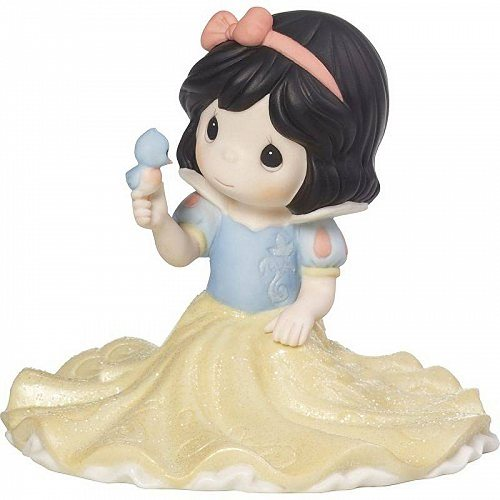Precious Moments Disney Life Goes Along With A Smile And A Song Girl As Snow White With Bird Figurine #173093 プレシャスモーメント ディズニー【送料無料】【代引不可】【あす楽不可】