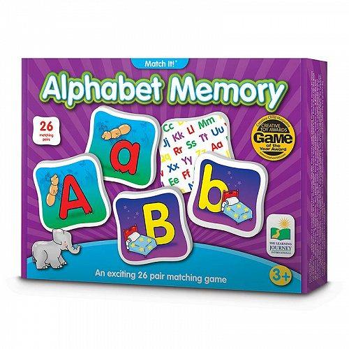 お祝いやプレゼントにも The Learning Journey 爆買い送料無料 Match It Memory 知育玩具 Alphabet [正規販売店] 送料無料 英語 英会話 代引不可 あす楽不可