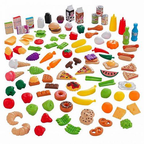 お祝いやプレゼントにも KidKraft キッズクラフト 定価の67%OFF デラックス Tasty Treats Pretend Play あす楽不可 代引不可 送料無料 大型 Food ドールハウス ごっこ遊び 公式