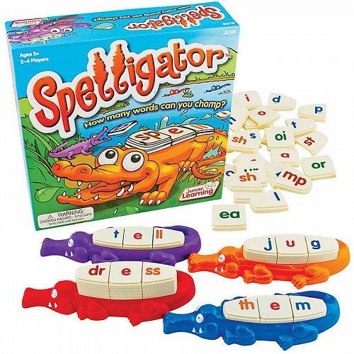Junior Learning Spelligator Word Building Game 知育玩具 英会話 英語 【送料無料】【代引不可】【あす楽不可】