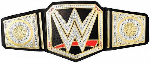 お祝いやプレゼントにも 全品最安値に挑戦 WWE ダブル イー Live Action Championship 代引不可 Title あす楽不可 信憑 格闘技 ベルト プロレス 送料無料