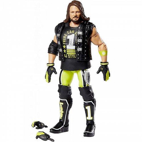 お祝いやプレゼントにも WWE ダブル イー AJ Styles Elite コレクション 激安 激安特価 超人気 送料無料 あす楽不可 プロレス 代引不可 格闘技 Figure Action