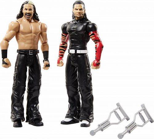 お祝いやプレゼントにも WWE ダブル イー 70%OFFアウトレット Battle Pack 返品交換不可 Hardy Boyz プロレス Set Action 格闘技 Figure 送料無料 代引不可 あす楽不可