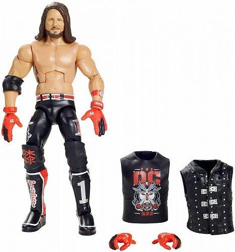 お祝いやプレゼントにも WWE ダブル イー AJ 特価キャンペーン Styles Elite コレクション 高額売筋 格闘技 代引不可 送料無料 Action あす楽不可 Figure プロレス