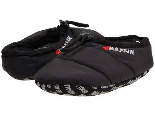 送料無料 バフィン Baffin シューズ 靴 スリッパ Cush - Black