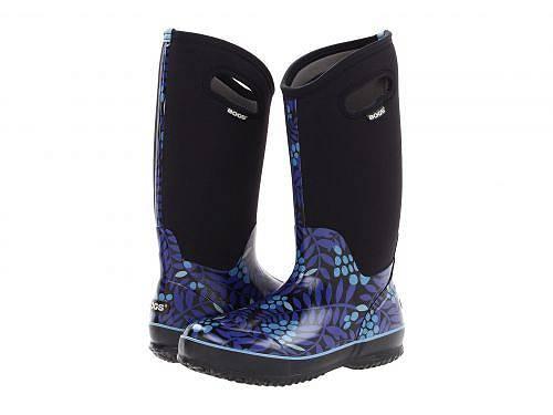 送料無料 ボグス Bogs レディース 女性用 シューズ 靴 ブーツ スノーブーツ Classic Tall - Blue Multi Winterberry