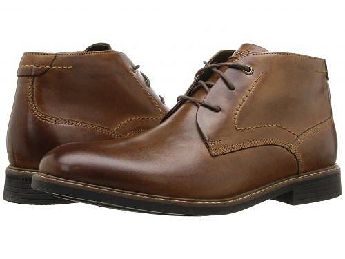 送料無料 ロックポート Rockport メンズ 男性用 シューズ 靴 ブーツ チャッカブーツ Classic Break Chukka - Dark Brown Leather