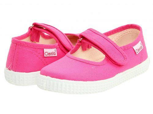 送料無料 Cienta Kids Shoes シエンタ 女の子用 キッズシューズ 子供靴 スニーカー 運動靴 5600012 (Infant/Toddler/Little Kid/Big Kid) - Fuchsia