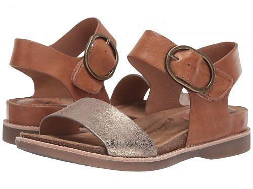 送料無料 ソフト Sofft レディース 女性用 シューズ 靴 サンダル Bali - Luggage/Bronze Oyster/Nuvola Metallic