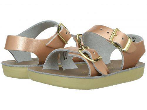 送料無料 Salt Water Sandal by Hoy Shoes 女の子用 キッズシューズ 子供靴 サンダル Sun-San - Sea Wees (Infant/Toddler) - Rose Gold