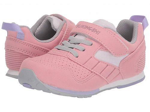 ツキホシ Tsukihoshi Kids 女の子用 キッズシューズ 子供靴 スニーカー 運動靴 Racer (Toddler/Little Kid) - Rose/Pink