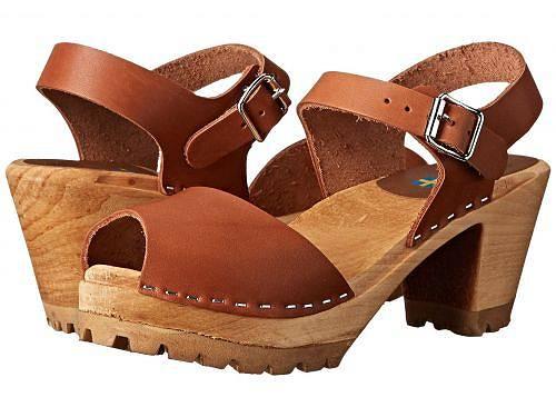 エムアイエー MIA レディース 女性用 シューズ 靴 クロッグ ミュール Greta - Luggage