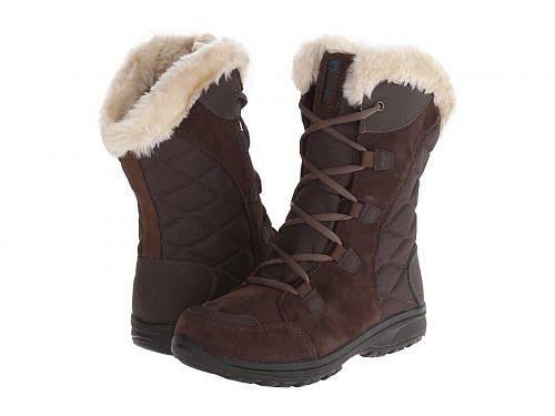 送料無料 コロンビア Columbia レディース 女性用 シューズ 靴 ブーツ スノーブーツ Ice Maiden(TM) II - Cordovan/Siberia