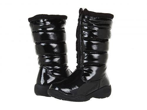 送料無料 ツンドラ Tundra Boots Kids 女の子用 キッズシューズ 子供靴 ブーツ スノーブーツ Puffy (Little Kid/Big Kid) - Black