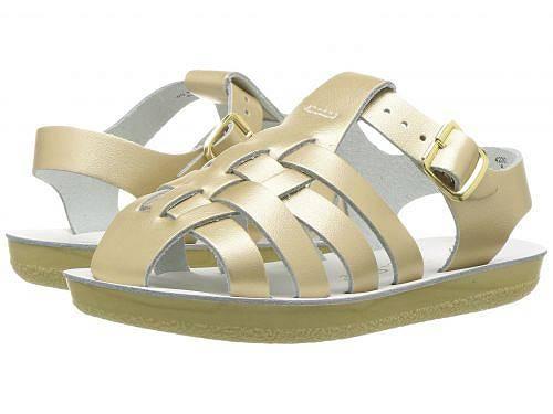 送料無料 Salt Water Sandal by Hoy Shoes 子供靴 サンダル 女の子用 キッズシューズ Salt Water Sandal by Hoy Shoes Sun-San - Sailors (Toddler/Little Kid) - Gold