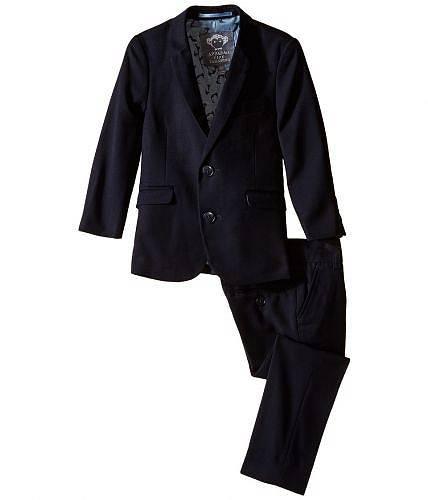 送料無料 アパマンキッズ Appaman Kids 男の子用 子供服 スーツ Two Piece Lined Classic Mod Suit (Toddler/Little Kids/Big Kids) - Navy Blue