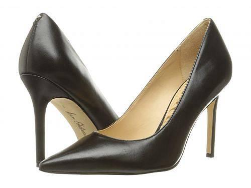 送料無料 サムエデルマン Sam Edelman レディース 女性用 シューズ 靴 ヒール Hazel - Black Dress Calf Leather