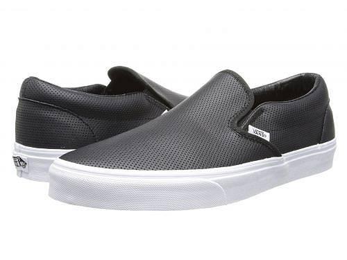 送料無料 バンズ Vans シューズ 靴 スニーカー 運動靴 Classic Slip-On(TM) Core Classics - (Perf Leather) Black