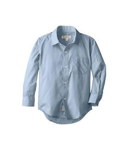 送料無料 アパマンキッズ Appaman Kids 男の子用 ファッション 子供服 ボタンシャツ The Standard Shirt (Toddler/Little Kids/Big Kids) - Blue