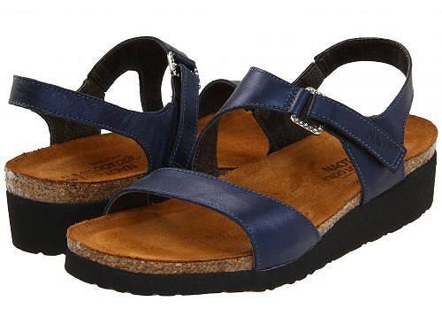 送料無料 ナオト Naot レディース 女性用 シューズ 靴 サンダル Pamela - Polar Sea Leather