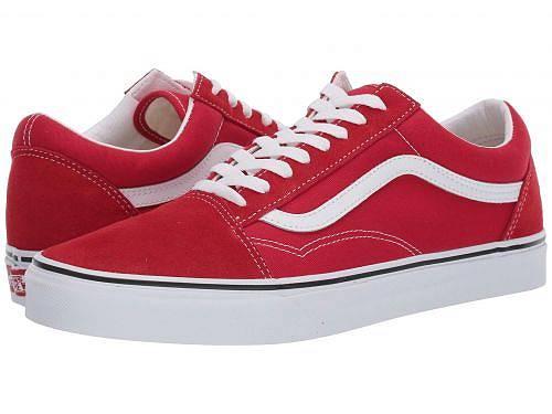 バンズ Vans シューズ 靴 スニーカー 運動靴 Old Skool(TM) Core Classics - Racing Red/True White