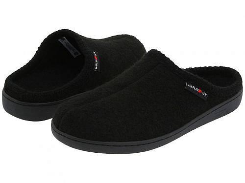 送料無料 ハフリンガー Haflinger シューズ 靴 スリッパ AT Classic Hardsole - Black