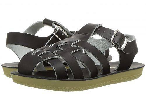 Salt Water Sandal by Hoy Shoes キッズ 子供用 キッズシューズ 子供靴 サンダル Sun-San - Sailors (Toddler/Little Kid) - Black