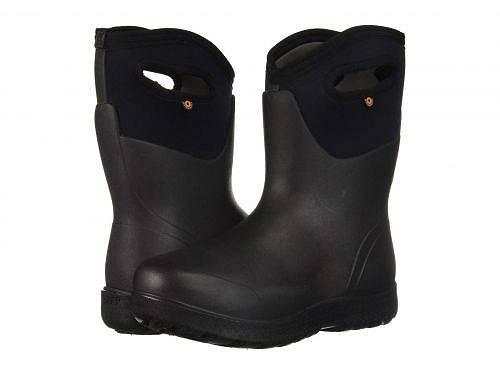 送料無料 ボグス Bogs レディース 女性用 シューズ 靴 ブーツ 安全靴 ワークブーツ Neo-Classic Mid - Black