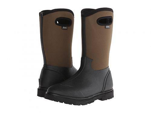 送料無料 ボグス Bogs メンズ 男性用 シューズ 靴 ブーツ レインブーツ Roper - Black/Brown