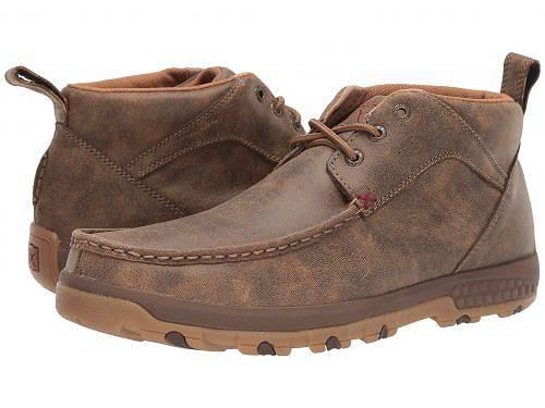 送料無料 Twisted X メンズ 男性用 シューズ 靴 ブーツ チャッカブーツ MXC0001 - Brown