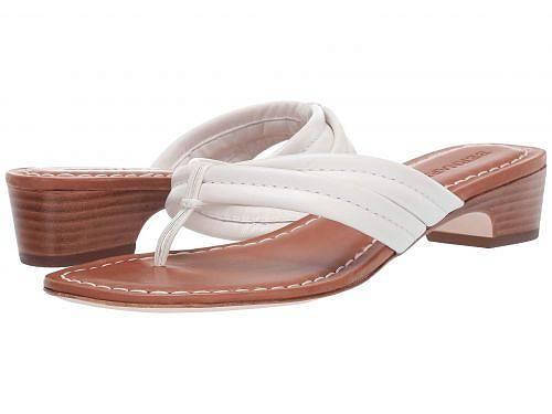 バーナード Bernardo レディース 女性用 シューズ 靴 サンダル Miami Demi Heel Sandals - White Antique Calf