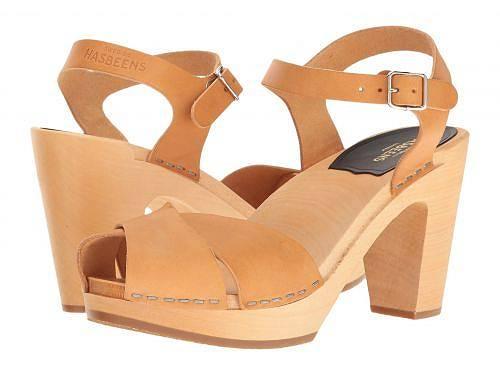 送料無料 スウェディッシュハズビーンズ Swedish Hasbeens レディース 女性用 シューズ 靴 ヒール Merci Sandal - Nature