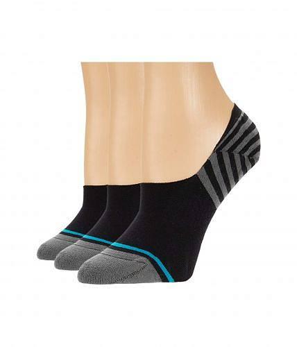 送料無料 スタンス Stance レディース 女性用 ファッション ソックス 靴下 Sensible Two 3-Pack - Black