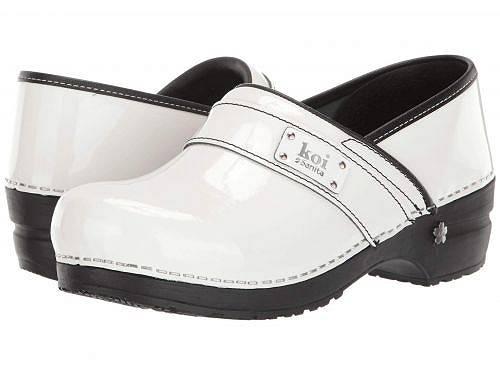 送料無料 サニタ Sanita レディース 女性用 シューズ 靴 クロッグ ミュール Lindsey by Koi - White