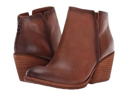 送料無料 コークイーズ Kork-Ease レディース 女性用 シューズ 靴 ブーツ アンクルブーツ ショート Chandra - Brown Full Grain Leather