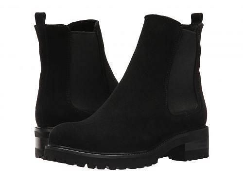 送料無料 ラカナディアン La Canadienne レディース 女性用 シューズ 靴 ブーツ チェルシーブーツ アンクル Conner - Black Suede