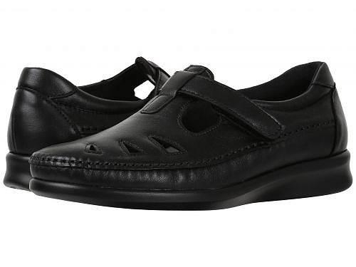 送料無料 SAS サス レディース 女性用 シューズ 靴 フラット SAS サス Roamer - Black